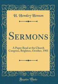 Sermons by H. Hensley Henson image