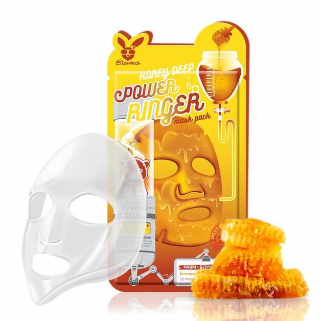 Elizavecca - Power Ringer Mask Pack (Honey Deep)