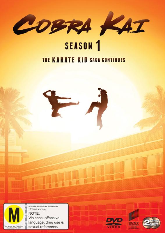 Cobra Kai Season 1 on DVD