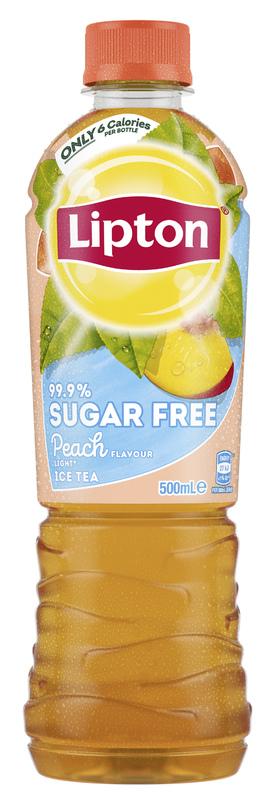 Lipton Ice Tea 99.9% Sugar Free Peach 500ml