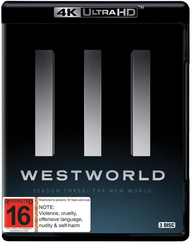 Westworld: Season 3 (4K UHD) on UHD Blu-ray