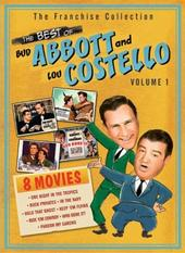 Abbott and Costello - The Best Of Volume 1 (4 Disc Box Set) on DVD