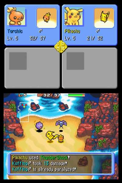 Pokemon Mystery Dungeon: Explorers of Darkness for Nintendo DS image