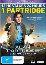 Alan Partridge: Alpha Papa on DVD