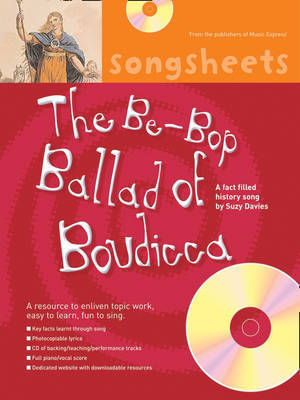 The Be-Bop Ballad of Boudicca: A Fact Filled History Song by Suzy Davies by Suzy Davies image