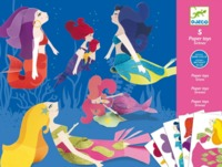 Djeco: Paper Toys - Mermaids