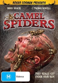 Camel Spiders on DVD