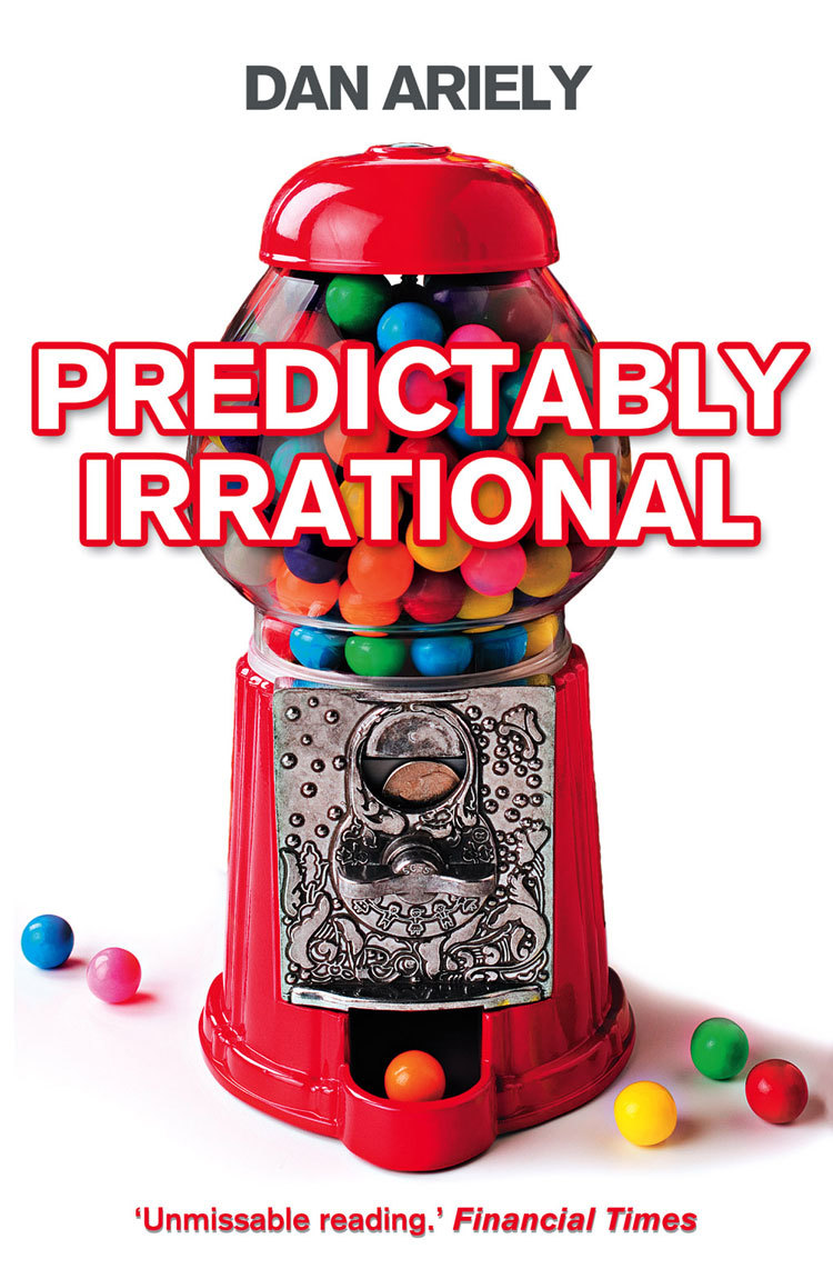 Predictably Irrational: The Hidden Forces That Shape Our Decisions (gumball cover) by Dan Ariely image