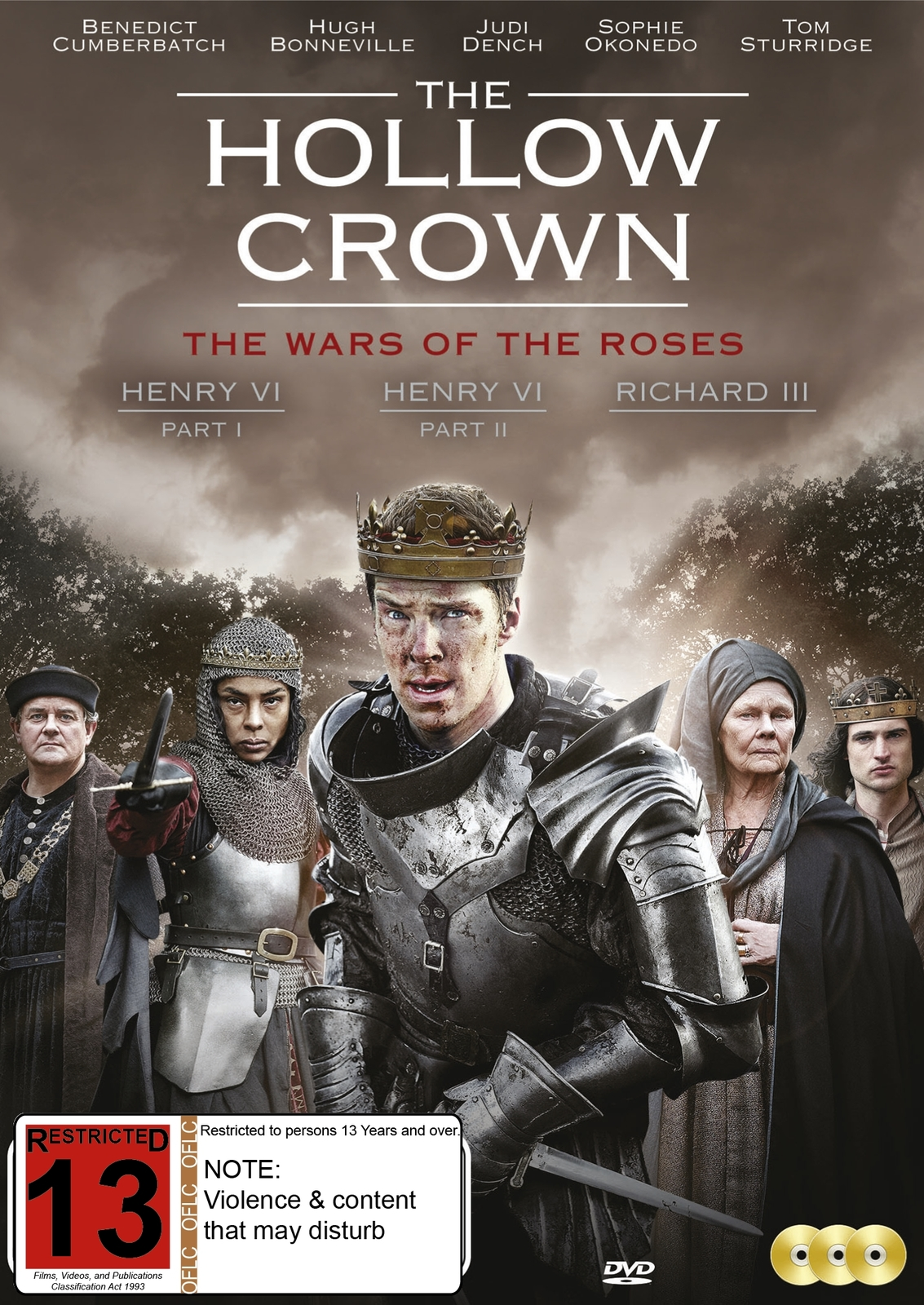 The Hollow Crown - The War Of The Roses on DVD image