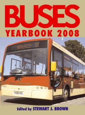 Buses Yearbook by Stewart J Brown image