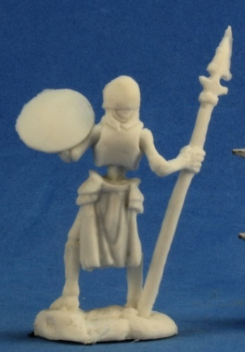 Dark Heaven Bones - Skeleton Guardian Spearmen (3-pc) image