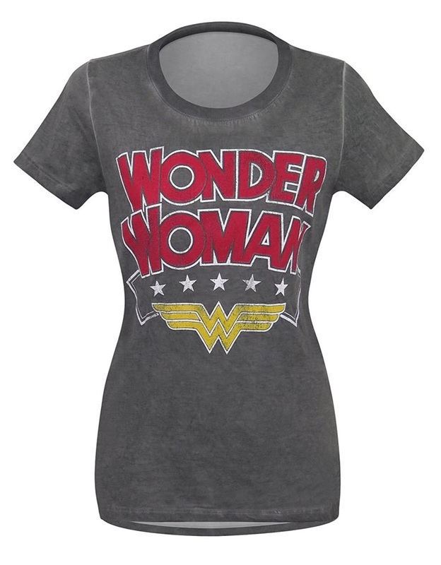 DC Comics: Wonder Woman Logo - Hi-Lo T-Shirt (Small)