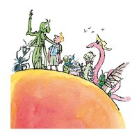 Museums & Galleries Greeting Card - James & the Giant Peach