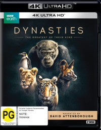 Dynasties on UHD Blu-ray image