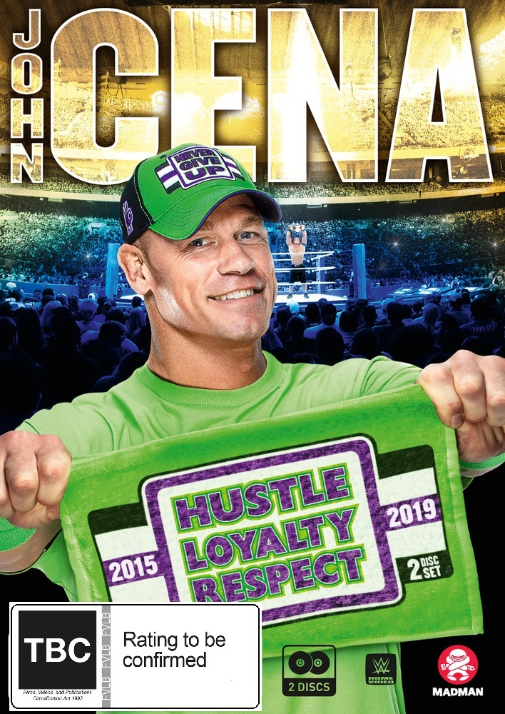 WWE: John Cena: Hustle, Loyalty, Respect on DVD image