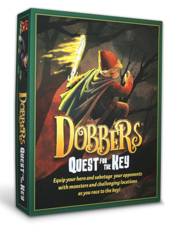 Dobbers: Quest for the Key - Board Game