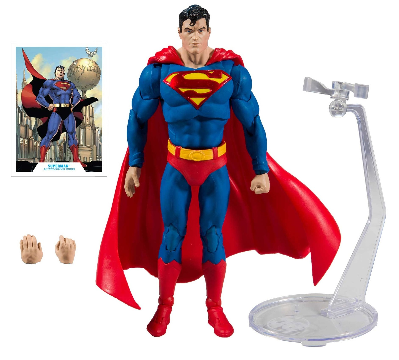 "DC Multiverse: Superman (Action Comics #1000) - 7"" Action Figure image"