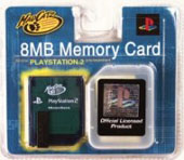 Madcatz PS2 8mb Memory Card for PS2