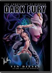 Chronicles Of Riddick, The - Dark Fury on DVD