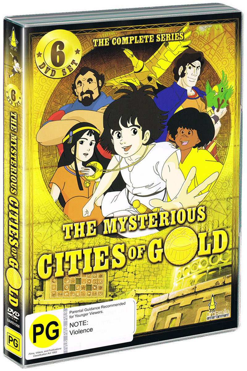 The Mysterious Cities of Gold - The Complete Series on DVD image