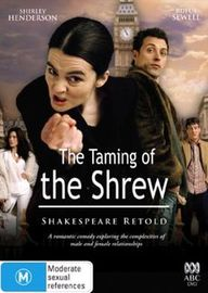 Taming Of The Shrew, The (2005) (Shakespeare Retold) on DVD image