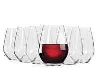 Krosno Vinoteca Stemless Red Wine - Set of 6 - 540ml
