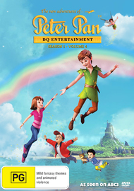 The New Adventures Of Peter Pan: Season 1 - Volume 4 on DVD