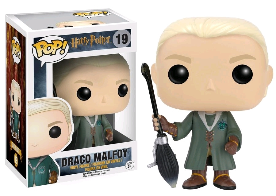 Harry Potter - Draco Malfoy Quidditch US Exclusive Pop! Vinyl Figure image