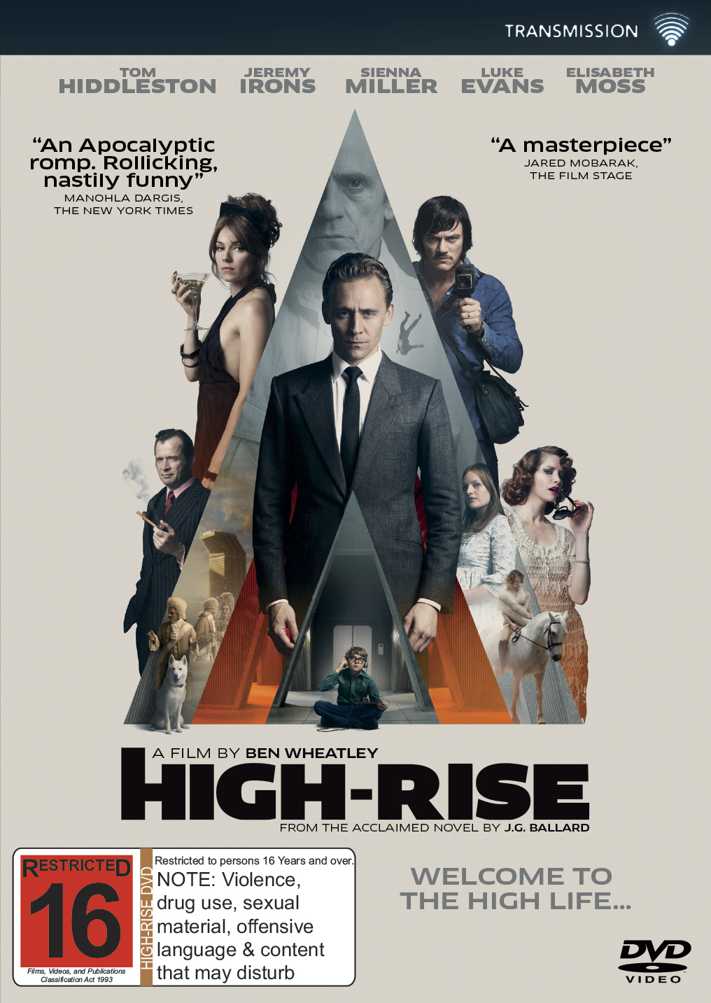 High-Rise on DVD image