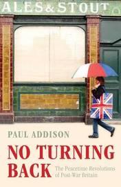 No Turning Back by Paul Addison