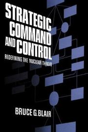 Strategic Command and Control by Bruce Blair image