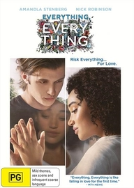 Everything, Everything on DVD image