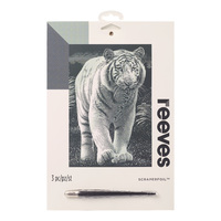 Reeves: Silver Scraperfoil - White Tiger