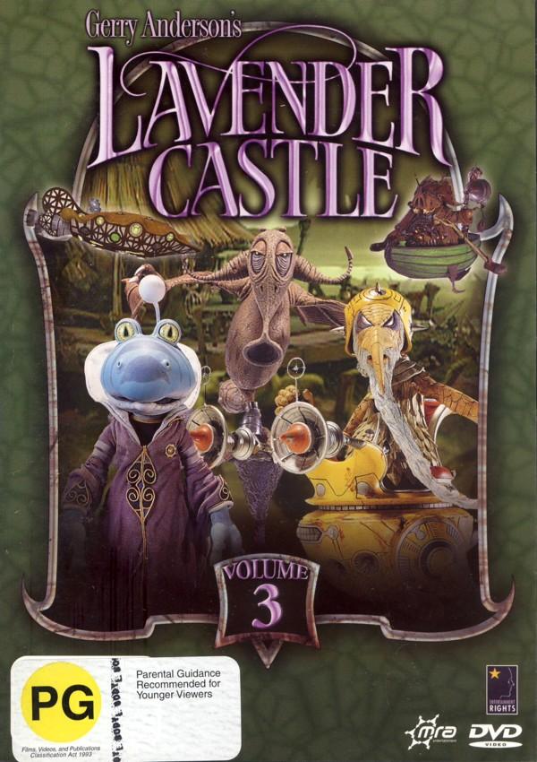 Lavender Castle: Volume 3 on DVD image