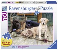 Ravensburger: 750 Piece Puzzle - Ruff Day