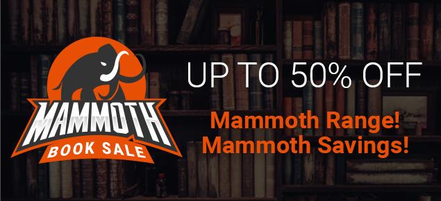 Mammoth Book Sale