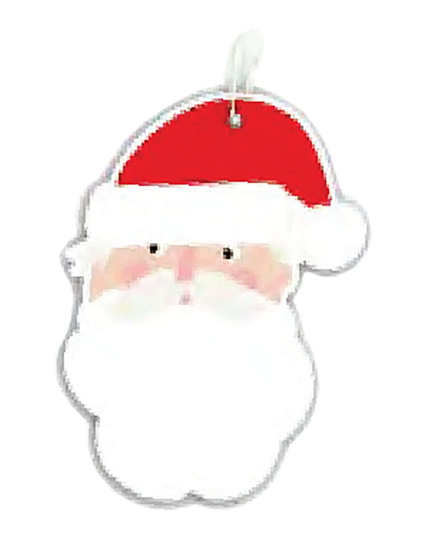 Hallmark: Christmas Gift Tags - Santa Fun (Pack of 12) image