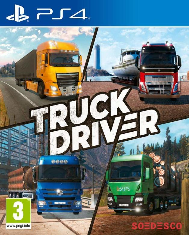 Truck Driver for PS4