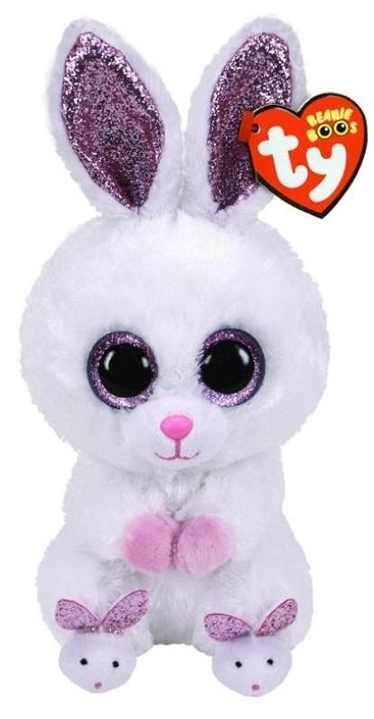 TY Beanie Boo: Slippers Rabbit - Small Plush image