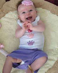 Bambeado Amber Anklet - Baby Bud - Dark Cherry image