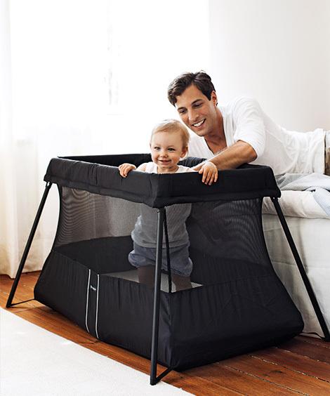 Baby Bjorn Travel Crib Light - Black