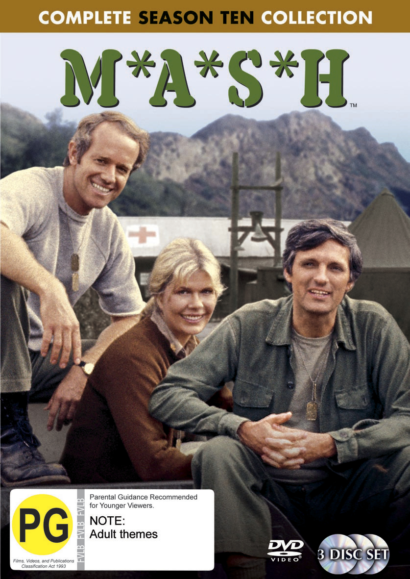 MASH - Complete Season 10 Collection (3 Disc Set) (New Packaging) on DVD image