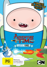 Adventure Time: Collection 9 - Frost & Fire With Mini Finn Slamacow on DVD