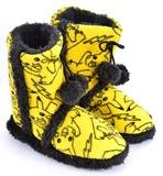 Pokemon: Pikachu Boot Slippers (Large)