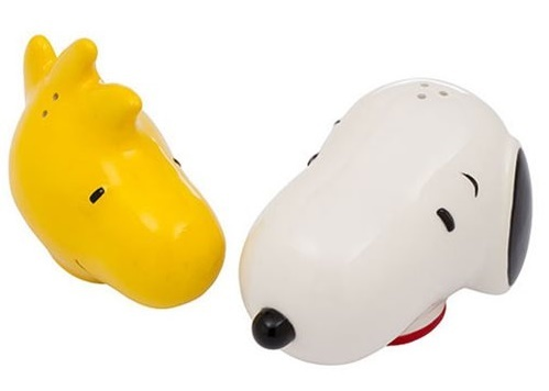 Peanuts: Snoopy & Woodstock - Ceramic Salt & Pepper Set