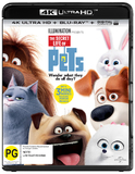 The Secret Life Of Pets (4K UHD + Blu-ray) DVD