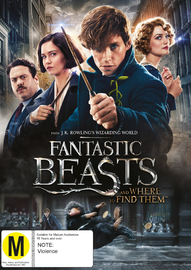 Fantastic Beasts and Where to Find Them on DVD