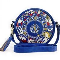 Loungefly Disney Alice Clock Crossbody Bag