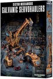 Warhammer 40,000 Sector Mechanicus: Galvanic Servohaulers