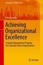 Achieving Organizational Excellence by Flevy Lasrado